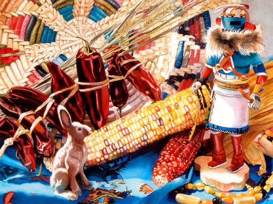 Джуди Кениг. Кукуруза и перец