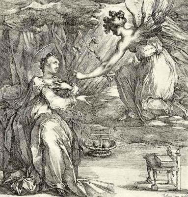 Jacques Bellange. The Annunciation