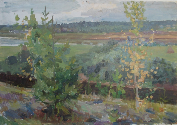 Nina Vasilievna Sedova. Beginning of autumn