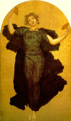 Frederic Leighton. Dance with plates