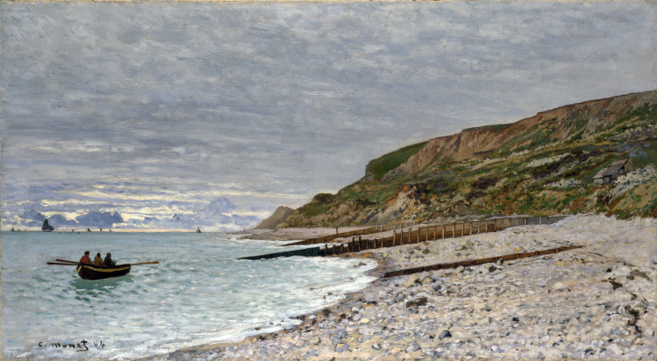 Claude Monet. Cape Ava, Of Sainte-Adresse