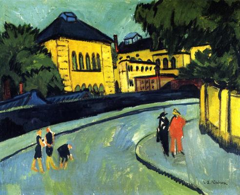 Ernst Ludwig Kirchner. Dresden