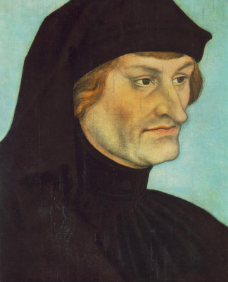 Lucas Cranach the Elder. Portrait of John Geiler von Kaisenberg