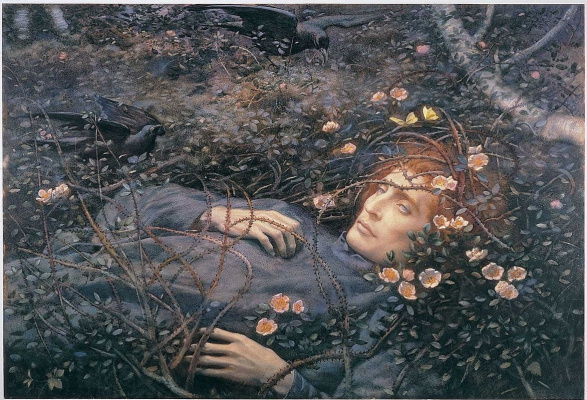 Edward Robert Hughes. About what it is in the emptiness...?