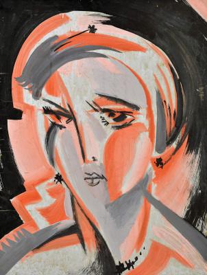 Сергей Князев. Розовый портрет