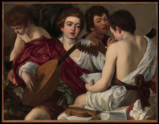 Michelangelo Merisi de Caravaggio. Musicians