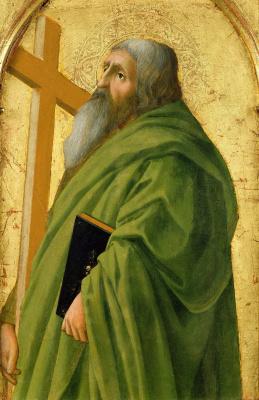 Tommaso Masaccio. Apostle Andrew