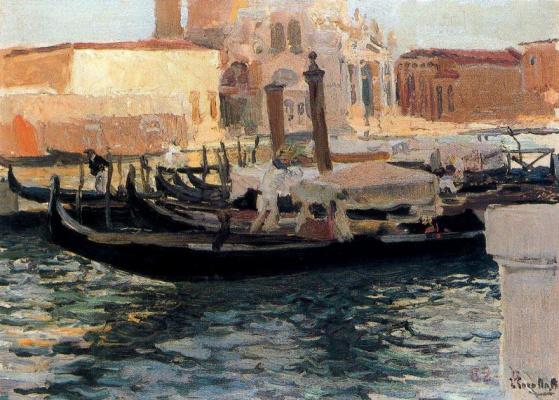 Joaquin Sorolla (Soroya). Salute, Venice