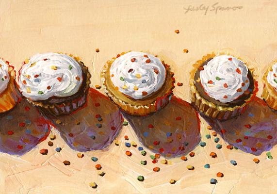 Wayne Thibaut. Cupcakes