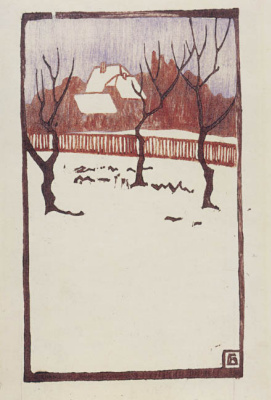 Fritz Bleuil. Winter