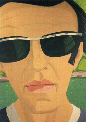 Self portrait with sunglasses