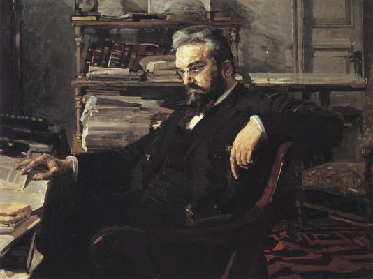 Mikhail Vrubel. Portrait Of Konstantin Dmitrievich Artsybushev