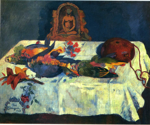 Paul Gauguin. Still Life with Parrots