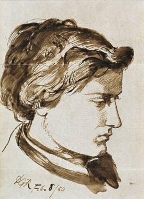Dante Gabriel Rossetti. Wykeham Deverell