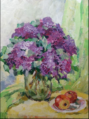 Lilia Georgievna Evsyukova. Lilac paradise