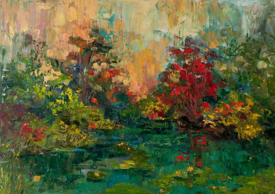 Tanya Vasilenko. Abandoned pond