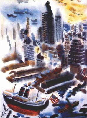 George Grosz. Manhattan