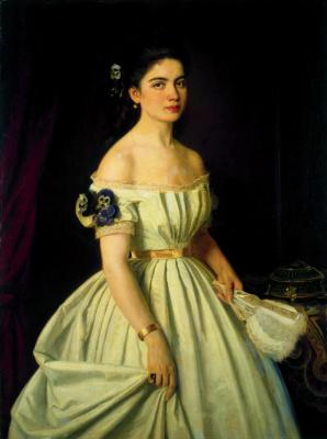 Ivan Nikolayevich Kramskoy. Portrait of Princess Catherine Alekseevny Vasilchikova