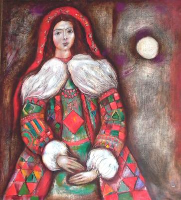 """Igor Vasilyevich Kislitsyn. """"Portrait V. with the moon"""""""