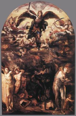 Доменико Беккафуми. Падение мятежных ангелов