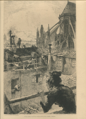 Louis Auguste Leper. Notre Dame Cathedral