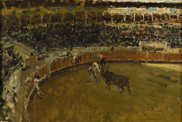 Mariano Fortuni-i-Carbo. Bullfight