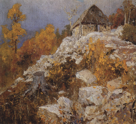Vasily Dmitrievich Polenov. Quarry