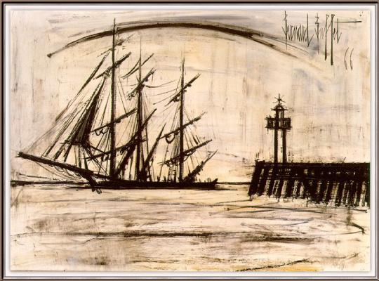 Bernard Buffett. Ship