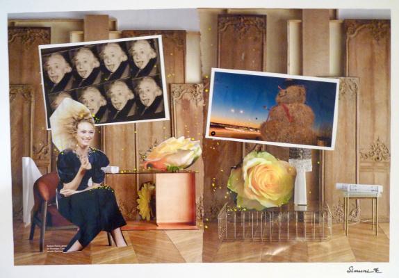Ekaterina Alekseevna Simuni. Collage number 5