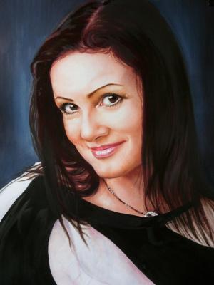Хельга Эдуардовна Григорьева. Portrait of an elegant woman.