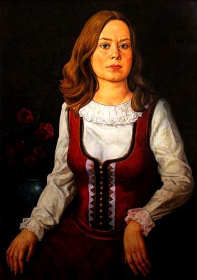 Khachatur Anushavanovich Vardparonyan. Portrait of Estonian art historian Marie Pill
