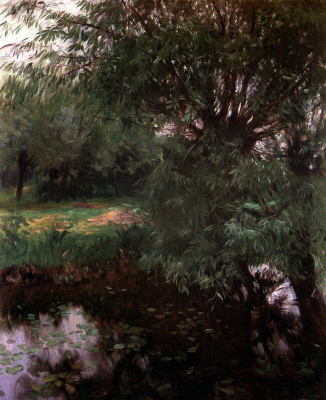 John Singer Sargent. A quiet backwater in Wargrave