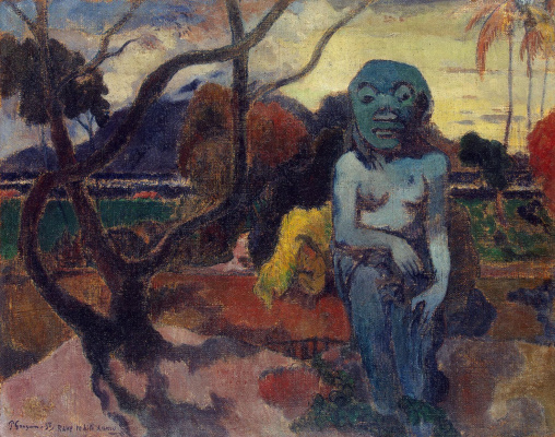 Paul Gauguin. Idol