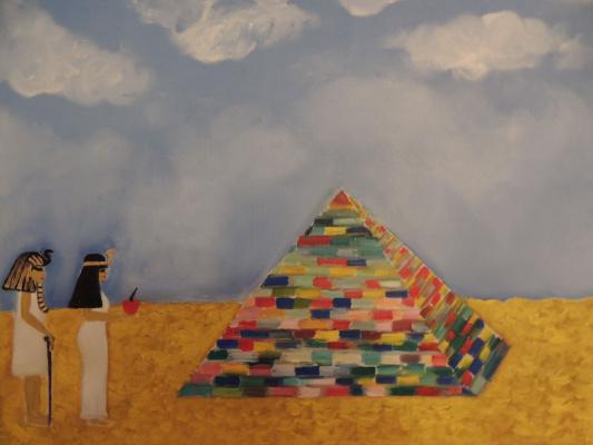 Asya Alibala gizi Hajizadeh. Pyramid