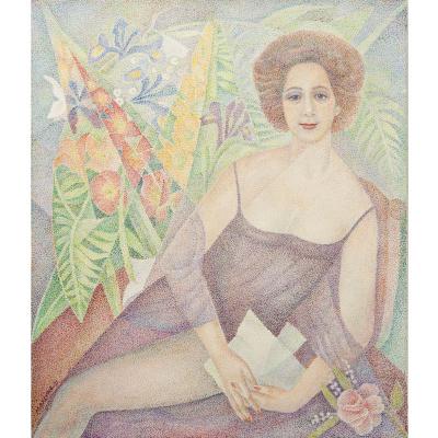 Мария Брониславовна Маревна (Воробьева-Стебельская). Портрет Марджи. 1971