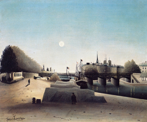Henri Rousseau. View Of St. Louis