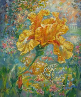 Natalya Savenkova. Yellow iris