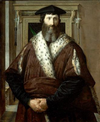 Франческо Пармиджанино. Малатеста Бальони
