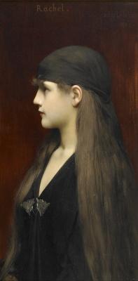 Jules Joseph Lefebvre. Rachel. 1888