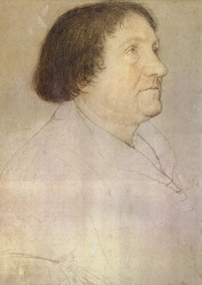 Hans Holbein the Younger. Portrait of Jacob Meyer
