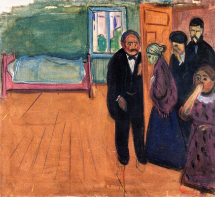 Edvard Munch. The smell of death