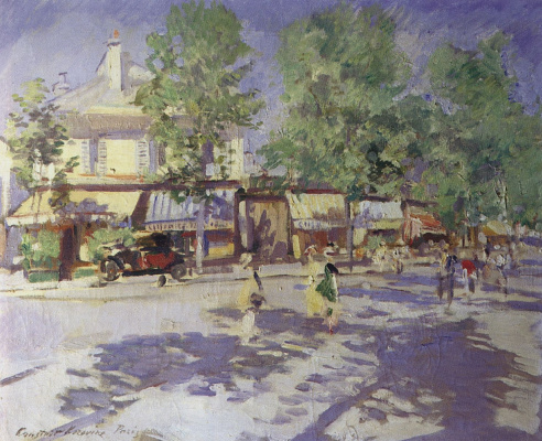 Konstantin Korovin. Paris in the morning