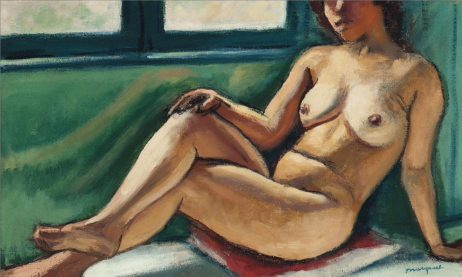 Albert Marquet. Nude Arab woman