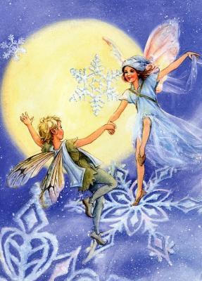 Лиза Папп. Феи на снежинках
