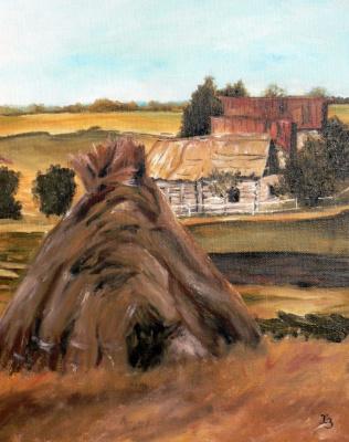 Сергей Николаевич Ходоренко-Затонский. Rural sketch