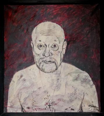 Nikolai Ivanovich Shumakov. Self-portrait