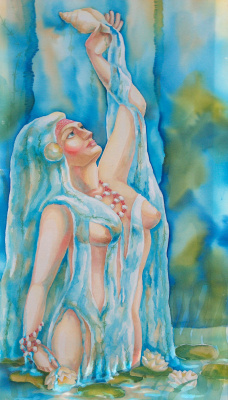 Violetta Valerievna Mitina. Goddess of water