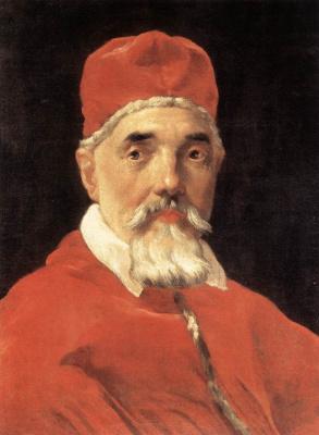 Джованни Лоренцо Бернини. Папа Урбан VIII
