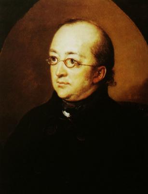 Vasily Andreevich Tropinin. Portrait of Dr. Nikolai Ivanovich Bera