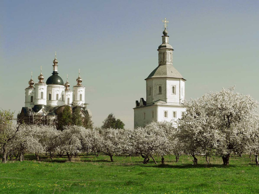 Vladimir Nikolaevich Bezgreshnov. Monastery garden.